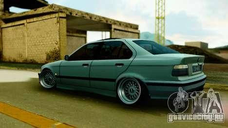 BMW 320 E36 для GTA San Andreas вид сзади слева