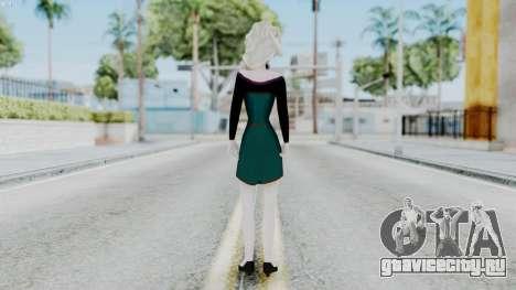 Elsa Regular Skirt Dress для GTA San Andreas третий скриншот