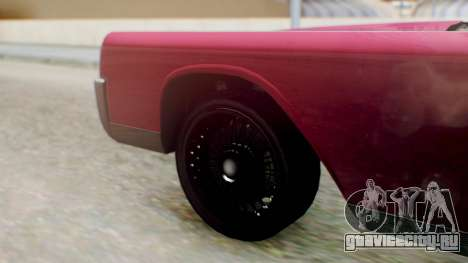GTA 5 Vapid Chino Tunable PJ для GTA San Andreas вид сзади слева