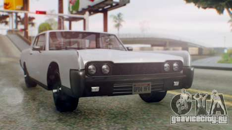 GTA 5 Vapid Chino Tunable IVF PJ для GTA San Andreas