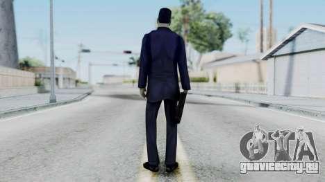 GMAN v1 from Half Life для GTA San Andreas третий скриншот