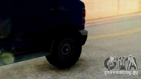 GTA 5 Rental Shuttle Bus Touchdown Livery для GTA San Andreas вид сзади слева