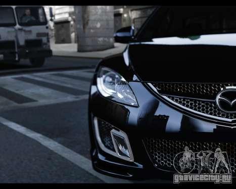 Mazda 6 Sport для GTA 4 вид справа