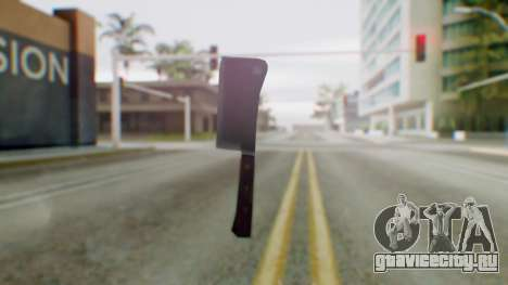 Vice City Meat Cleaver для GTA San Andreas второй скриншот
