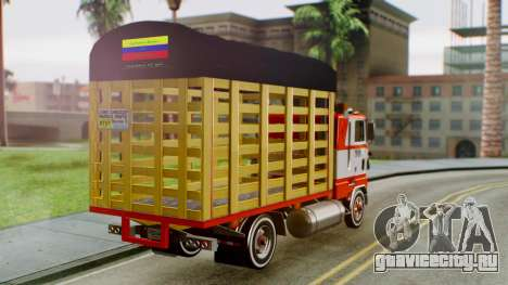 Ford 9000 Con Estacas Stylo Colombia для GTA San Andreas вид слева