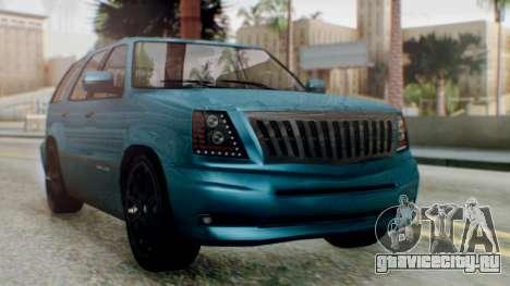 GTA 5 Albany Cavalcade II IVF для GTA San Andreas