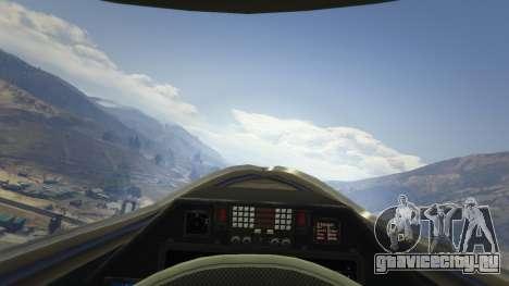 Chengdu J-20 для GTA 5 пятый скриншот