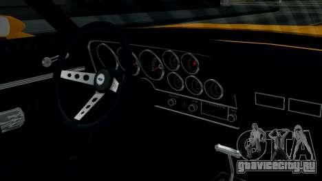 Ford Gran Torino 1974 для GTA San Andreas вид изнутри