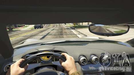 Ferrari F12 Berlinetta 2013 для GTA 5 вид сзади