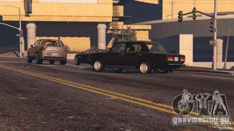 ВАЗ-2107 Lada Riva v1.2 для GTA 5 вид спереди справа