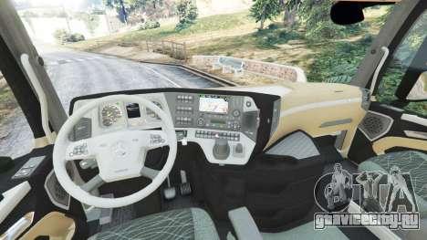 Mercedes-Benz Actros Euro 6 [Brasil] для GTA 5