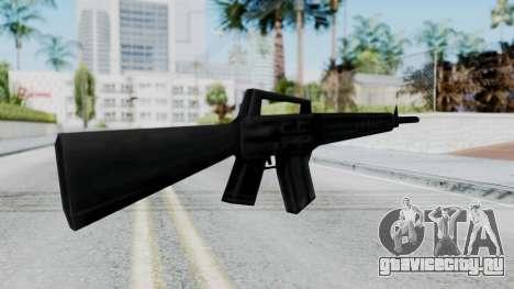 GTA 3 M16 для GTA San Andreas второй скриншот