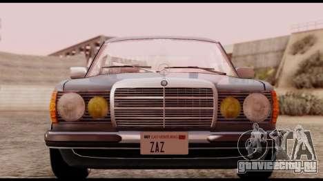 Mercedes-Benz 450SEL для GTA San Andreas вид справа