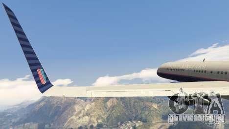 Boeing 757-200 для GTA 5 восьмой скриншот