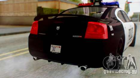 New Police LV для GTA San Andreas вид сзади