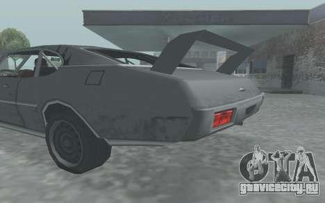 Clover Stock Car для GTA San Andreas вид справа