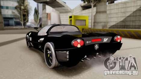 Ferrari P7-2 Shadow для GTA San Andreas вид слева