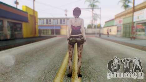 Fatal Frame 4 Misaki Punk Outfit для GTA San Andreas третий скриншот