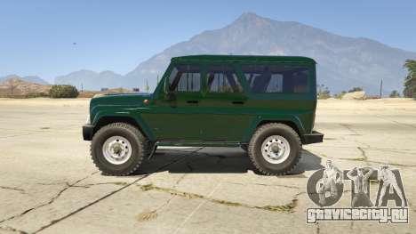 УАЗ 3159 Porpoising для GTA 5 вид слева