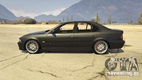 BMW M5 E39 1.1 для GTA 5 вид слева