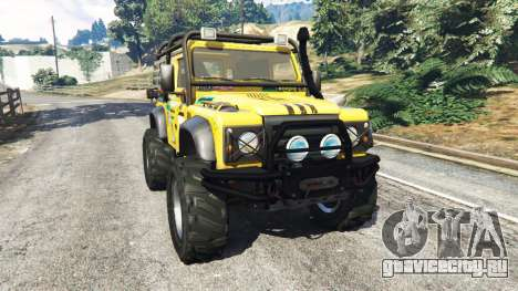 Land Rover Defender 90 1990 v1.1 для GTA 5