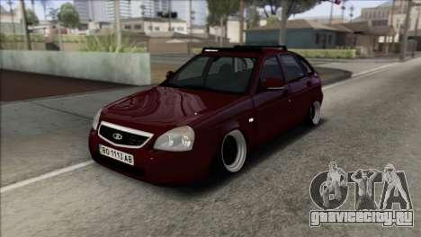 Lada Priora Ukrainian Stance для GTA San Andreas