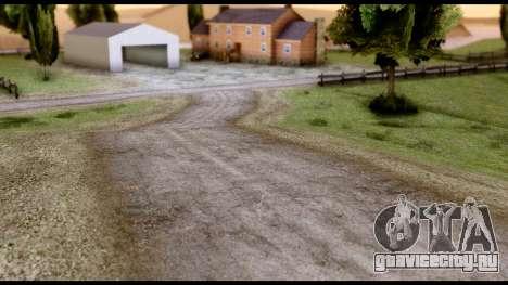 New HD Roads для GTA San Andreas третий скриншот