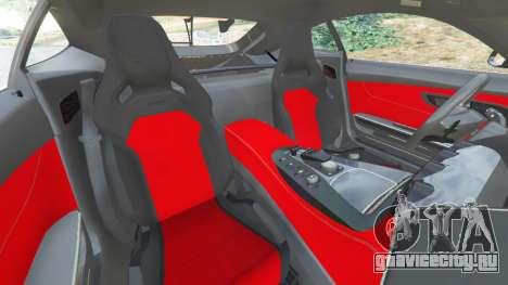 Mercedes-Benz AMG GT 2016 [LibertyWalk] для GTA 5 вид справа