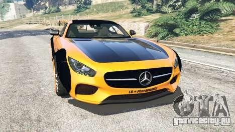 Mercedes-Benz AMG GT 2016 [LibertyWalk] для GTA 5