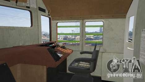 Monster Train для GTA 5 вид сзади справа