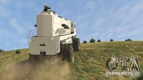 Monster Train для GTA 5 вид справа