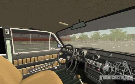 ВАЗ 2103 Спорт-тюнинг для GTA San Andreas салон