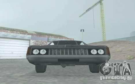 Clover Stock Car для GTA San Andreas вид сзади слева