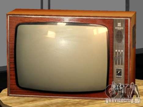 Телевизор Берёзка-212 для GTA San Andreas второй скриншот
