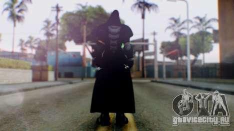 Reaper - Overwatch для GTA San Andreas третий скриншот