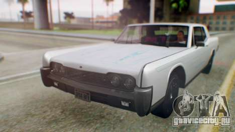 GTA 5 Vapid Chino Tunable PJ для GTA San Andreas вид сзади
