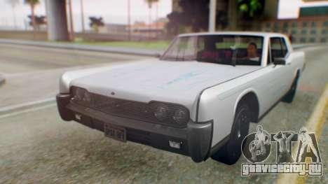 GTA 5 Vapid Chino Tunable PJ для GTA San Andreas вид сзади