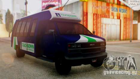 GTA 5 Rental Shuttle Bus Touchdown Livery для GTA San Andreas