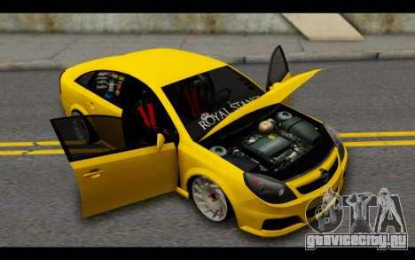 Opel Vectra Special для GTA San Andreas вид сбоку