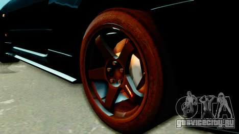 Nissan Skyline GT-R Nismo Tuned для GTA San Andreas вид сзади слева