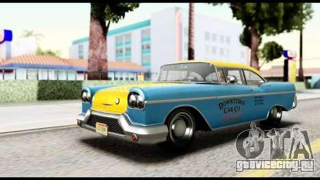 GTA 5 Declasse Cabbie v2 IVF для GTA San Andreas