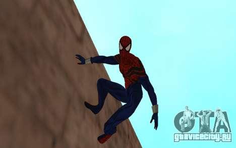 Сенсационный Человек-Паук Бен Рейли для GTA San Andreas второй скриншот