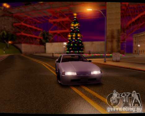 Elegy Stock HD by Balalaika для GTA San Andreas вид сзади слева