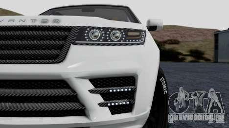 GTA 5 Gallivanter Baller LE LWB Arm IVF для GTA San Andreas вид сзади