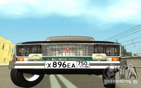 ВАЗ 2103 Спорт-тюнинг для GTA San Andreas вид справа