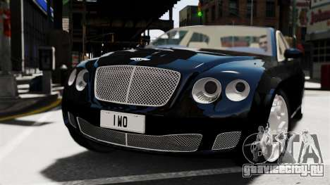 Bentley Continental 2010 Flying Spur Beta для GTA 4