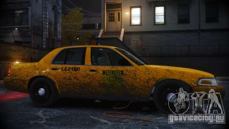 Ford Crown Victoria L.C.C Taxi для GTA 4 вид слева
