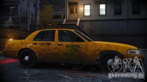 Ford Crown Victoria L.C.C Taxi для GTA 4 вид слева