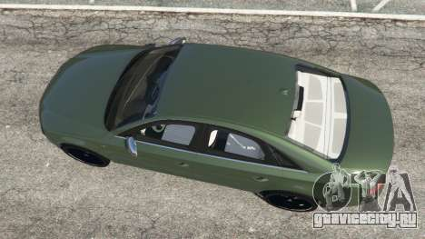 Audi S8 Quattro 2013 v1.2 для GTA 5 вид сзади