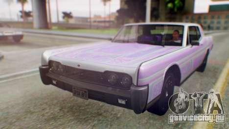 GTA 5 Vapid Chino Tunable IVF PJ для GTA San Andreas вид снизу